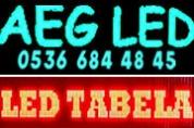 AEG Led Tabela