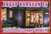 Ahşap Karavan Ev – Kuzucuoğlu Ahşap Mobilya