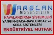 Arslan Mühendislik – Havalandırma Sistemleri