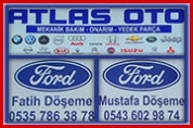 Atlas Oto – Ford Özel Servis Oto Yol Yardım