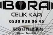 Bora Çelik Kapı – Satış Montaj