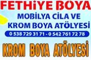 Fethiye Krom Boya – Nikelaj Atölyesi
