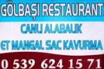 Gölbaşı Restaurant – İçkili Lokanta