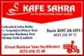 Kafe Sahra – Kafeterya Yemek  ve Çay Servisi
