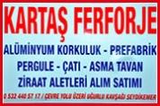 Kartaş Ferforje – Demir Doğrama ve Ferforje
