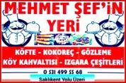 Mehmet Şef'in Yeri – Saklıkent Yolu Üzeri Restaurant