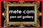 Mete Cam – Pen Art Gallery