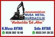 Musa Metal Hurdacılık – Hurdacı Hacı