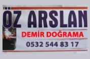 Öz Arslan Demir Doğrama