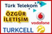 Özgür İletişim – Türk Telekom Vodafone Turkcell Bayii