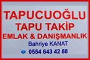 Tapucuoğlu Tapu Takip