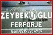 Zeybekoğlu Ferforje – Dekoratif Demir Doğrama